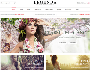 ecommerce traditional theme for onlince boutique