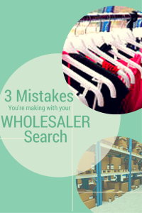 3 mistakes you're making with your wholesalers
